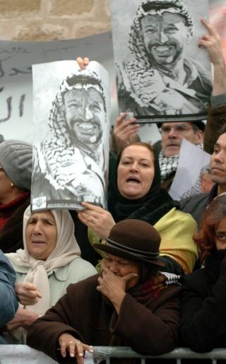 mort d'Arafat