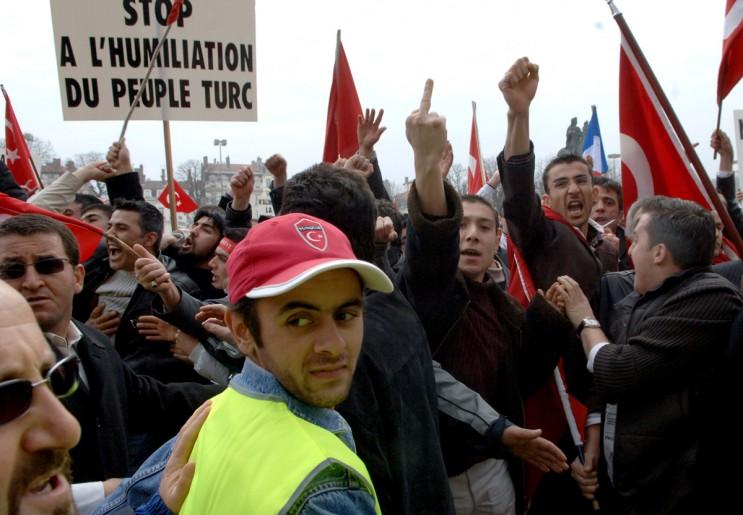 manifestation pro turc