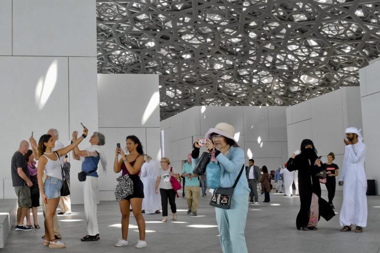 Louvre Abu Dhabi museum .