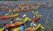 kayak sur le Rhône