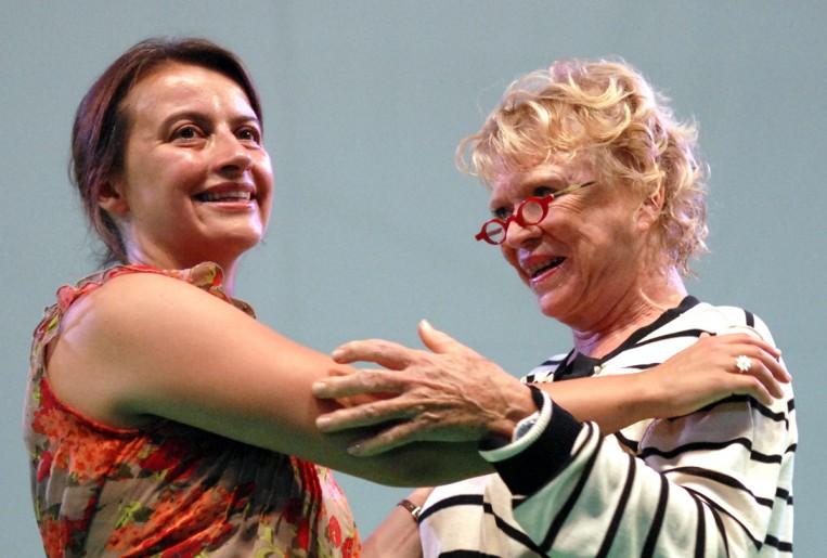 Eva Joly et Cécile Duflot