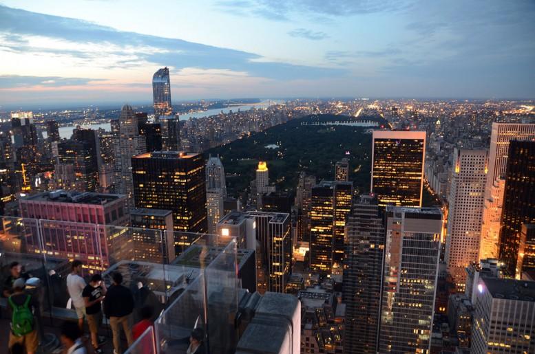 New- York by night