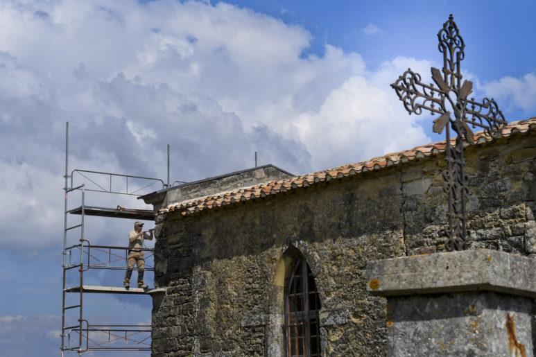 Restauration église