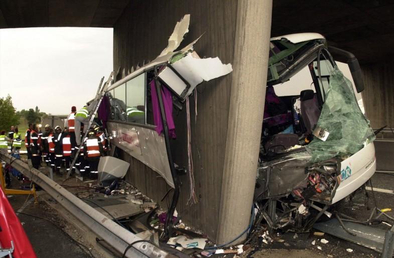 accident car autoroute A7